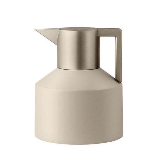 Geo Vacuum Jug <br> Light Pebble / Metallic <br> 1 Liter