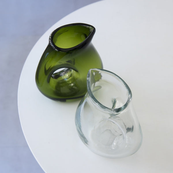 JUG WITH HOLE <br> GREEN <br> 850 ML