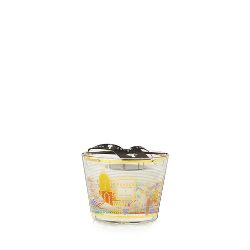 CITIES SAINT TROPEZ CANDLE<br> ROSEMARY, MINT, BLACKCURRANT<br> LIMITED EDITION<br> (12.5 x 10) CM