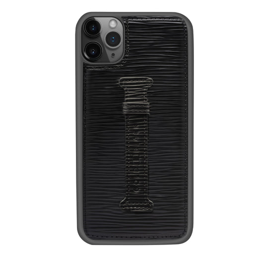 UNICO BLACK <br> IPHONE 11 PRO MAX CASE <br> WITH FINGER HOLDER