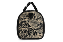 Golden wave duffle bag