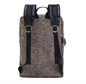 Haze Tan Wave Backpack
