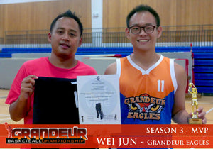 Most Valuable Player - Grandeur Basketball League