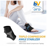 BodyVine Sports - Ankle Stabilizer (Triple Compression Technology)