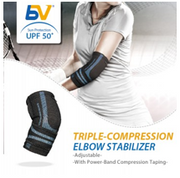 BodyVine Sports - Elbow Stabilizer (Triple Compression Technology)