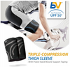BodyVine Sports - Thigh Sleeve (Triple Compression Technology)