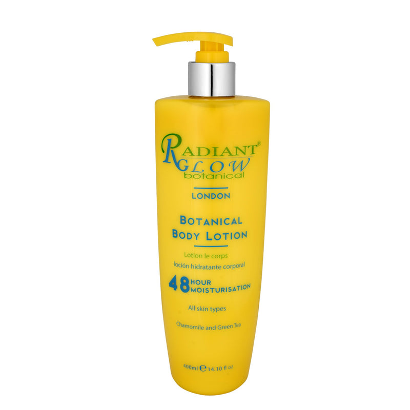 RADIANT GLOW BOTANICAL 48 HOUR BODY LOTION 400ML