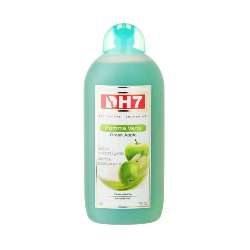DH7 - Shower Gel Lightening and Exfoliating Green Apple softens your skin and keeps it clean 750 ml