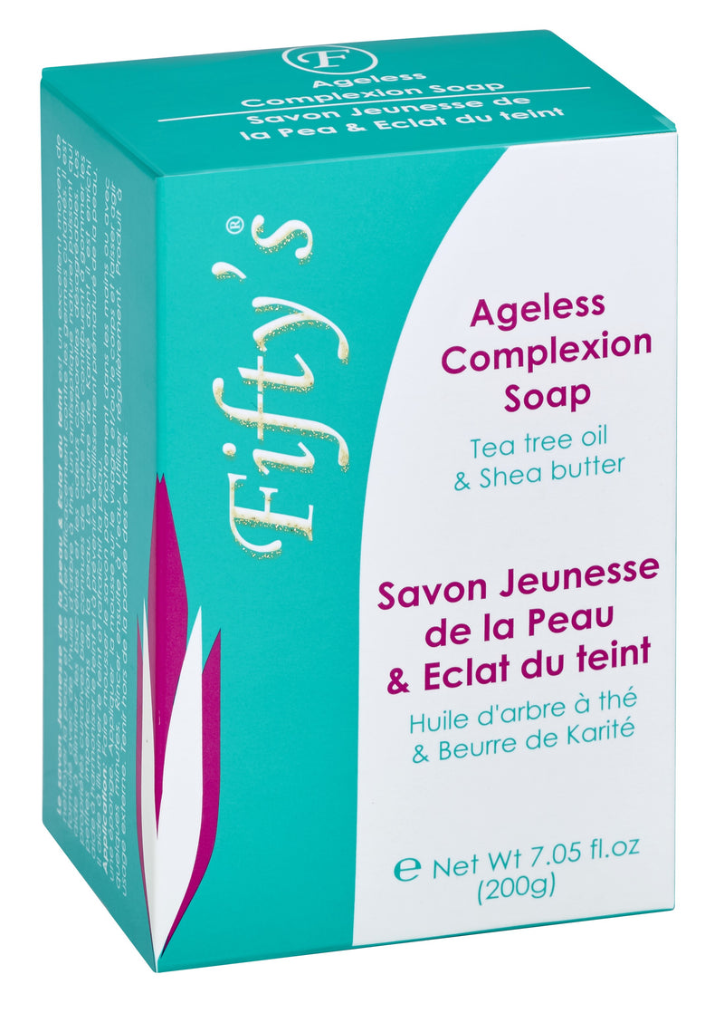 FIFTY'S BEAUTY - AGELESS COMPLEXION SOAP 200 g (7.05 oz)