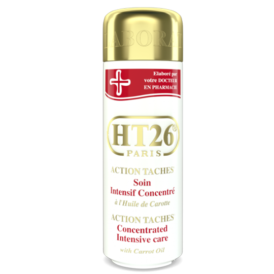 HT26 - Intensive Concentrated body lotion with carrot oil / Lait action taches à l'huile de carotte