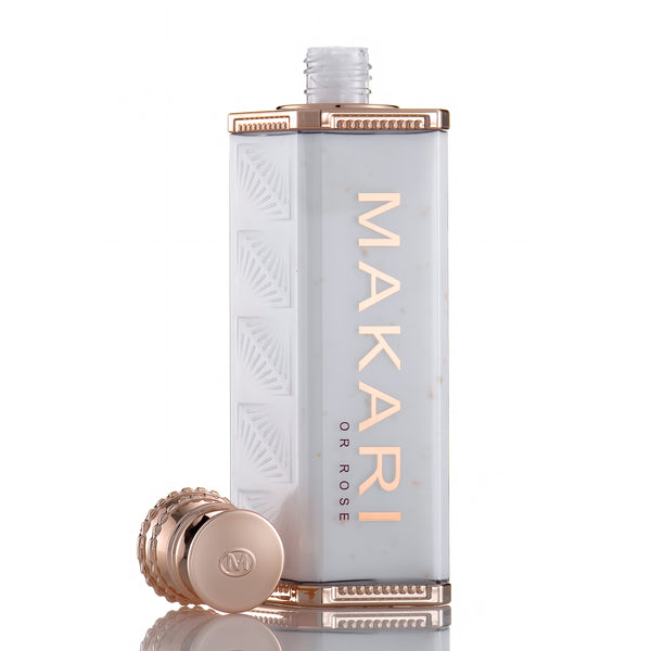 MAKARI - 24K ROSE GOLD BEAUTY MILK  / Repairs skin. Lightens marks. Revives glow.  For all skin types as directed