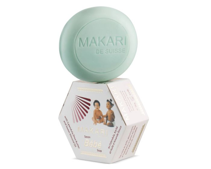 MAKARI - BEBE SOAP / Gently cleanses. Soothes. Nourishes.  For delicate and sensitive skin types