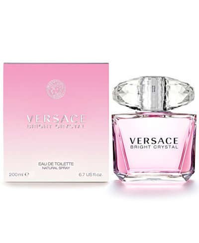 FRAG - Versace Bright Crystal by Versace Fragrance for Women Eau de Toilette Spray 6.7oz (200mL)