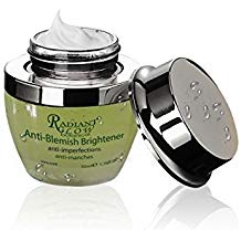 RADIANT GLOW BOTANICAL ANTI BLEMISH BRIGHTENER CREAM 50g Repair, brighten & regenerate damaged tissue & hyperpigmentation. - ShanShar