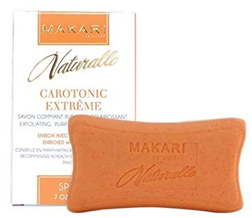 CAROTONIC EXTREME TONING SOAP / Detoxifies. Controls oil. Evens Tone.  For oily and acne-prone skin types