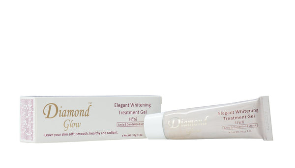 LABELLE GLOW - Diamond Glow Elegant Whitening Treatment Gel With Amla & Dandelion Extract - ShanShar