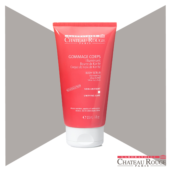 CHATEAU ROUGE ILLUMINATING BODY SCRUB - Shea Butter Exfoliator