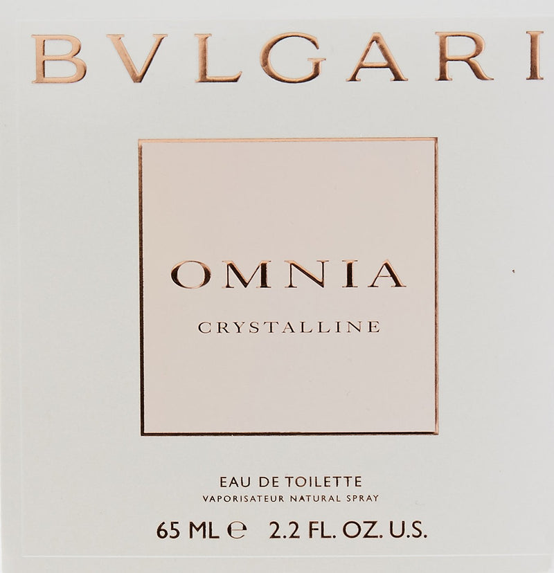 FRAG - Bvlgari Omnia Crystalline for Women Eau De Toilette Spray 2.2 oz (65mL)