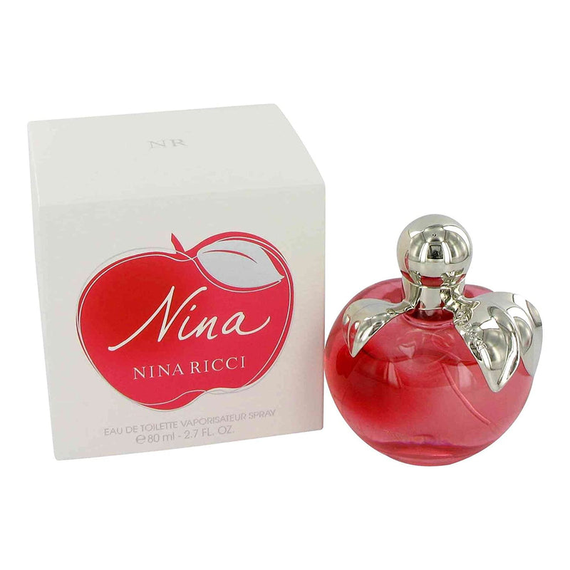 FRAG - Nina by Nina Ricci Fragrance for Women Eau de Toilette Spray 2.7 oz (80mL)