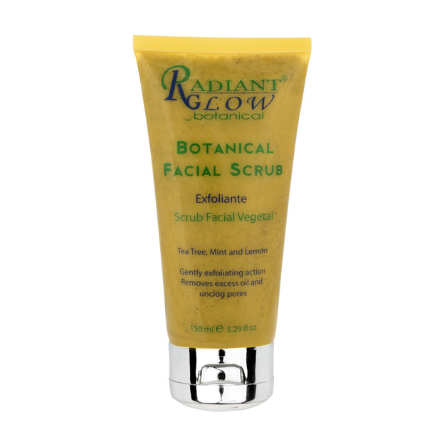 RADIANT GLOW BOTANICAL - ORGANIC FACIAL SCRUB 150ML