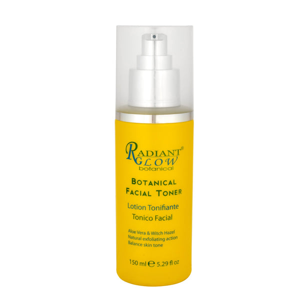 RADIANT GLOW BOTANICAL FACIAL TONER -  Clean, tightening pores , moisturize and refresh the skin.