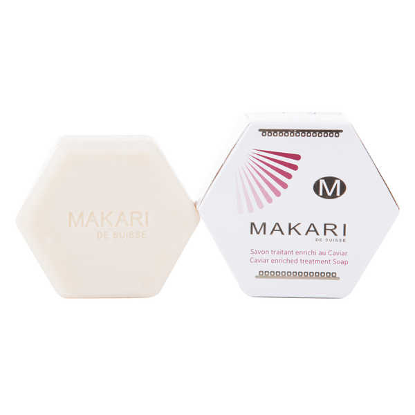 MAKARI - CAVIAR ENRICHED SOAP - Nourishes and soothes dehydrated skin. Blurs wrinkles and fine lines. Improves skin's elasticity.  For all skin types - ShanShar