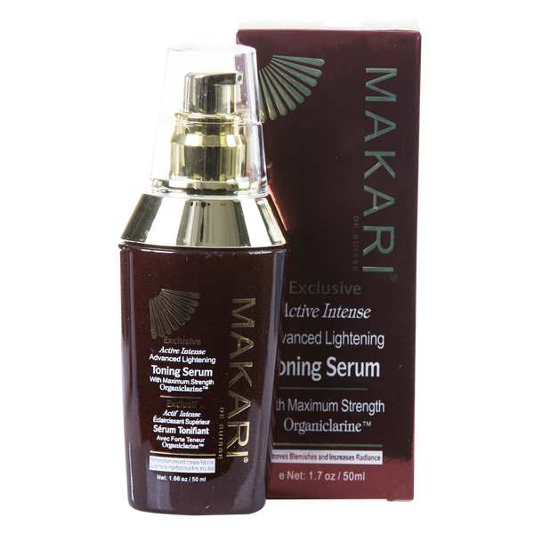 MAKARI - EXCLUSIVE TONING SERUM Clarifies spots.  Boosts radiance.  For all skin types except sensitive - ShanShar