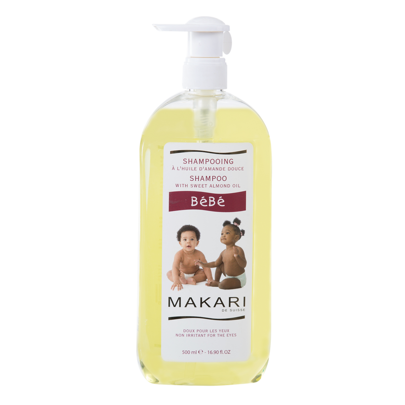 MAKARI - BEBE SHAMPOO / Cleanses. Refreshes. Softens.  For delicate skin types 16.70 oz - ShanShar