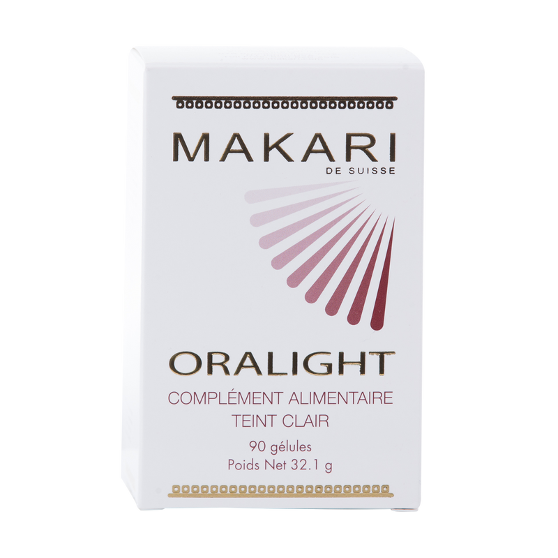 ORALIGHT BRIGHTENING  SUPPLEMENTS ORAL 90Caps. Whitens skin from inside out.  For all skin types as directed - ShanShar