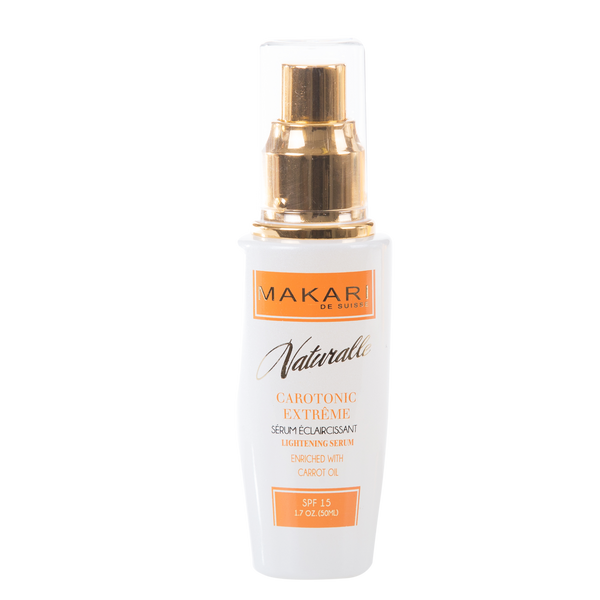 MAKARI - CAROTONIC EXTREME TONING SERUM SPF 15 /Heals. Balances skin. Restores radiance.  For combination, oily and acne-prone skin types