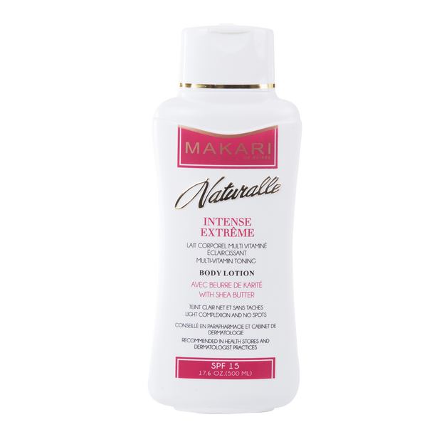 MAKARI - INTENSE EXTREME BODY LOTION SPF 15 / Soothes irritations. Improves elasticity. Brightens.  For dry to normal skin types. - ShanShar