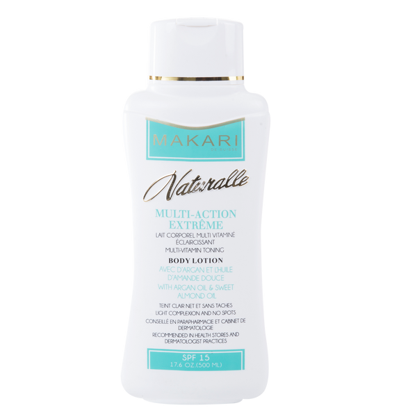 MAKARI - MULTI-ACTION EXTREME BODY LOTION SPF 15 / Nourishes. Evens tone. Boosts glow.  For all skin types - ShanShar