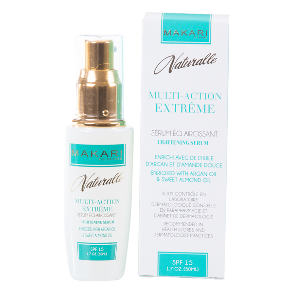MAKARI - MULTI-ACTION EXTREME TONING SERUM SPF 15 / Nourishes. Boosts radiance. Improves elasticity.  For all skin types - ShanShar