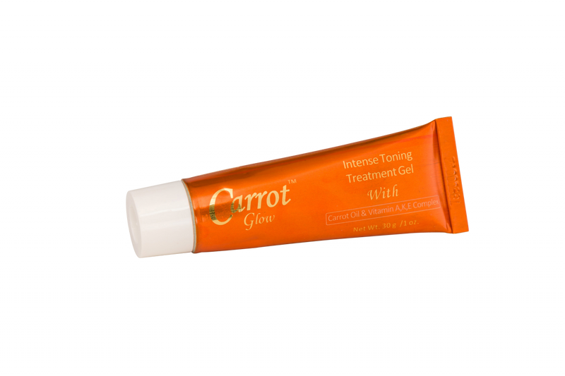 LABELLE Glow - Carrot Glow Intense Toning Treatment Gel With Carrot Oil & Vitamin A, K & E complex - ShanShar
