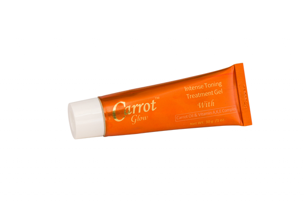 Glow - Carrot Glow Intense Toning Treatment Gel With Carrot Oil & Vitamin A, K & E complex