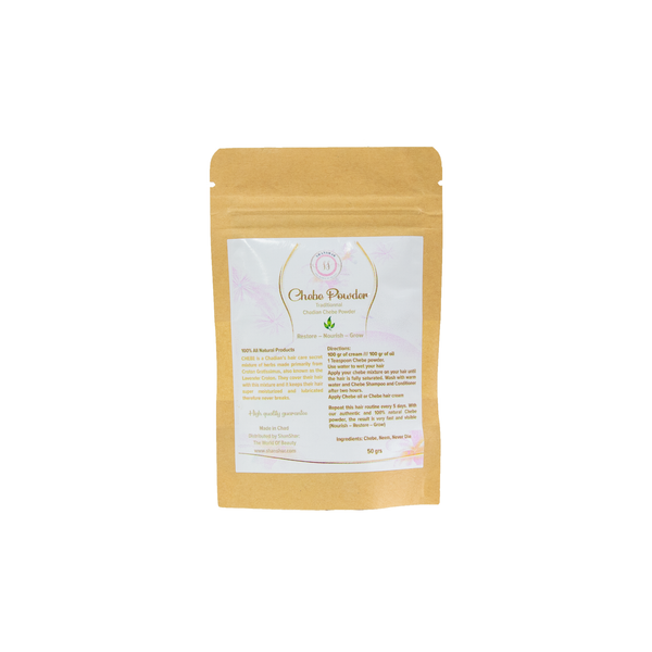 CHEBE HAIR POWDER MIX  - Nourish, Restore and Grow loss hair - Alopecia Treatment - 50 g - ShanShar