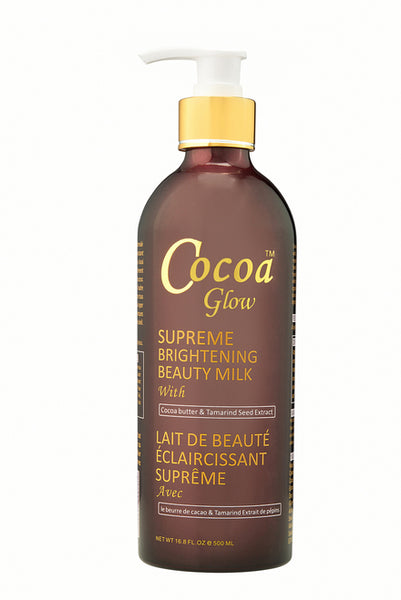 LABELLE GLOW - Cocoa Glow Supreme Brightening Beauty Milk With Cocoa Butter & Tamarind Seed Extract - ShanShar