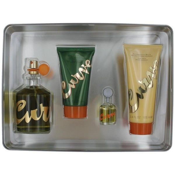 FRAG - CURVE 4 PCS SET FOR MEN: 4.2 COL SPRAY (METAL BOX)
