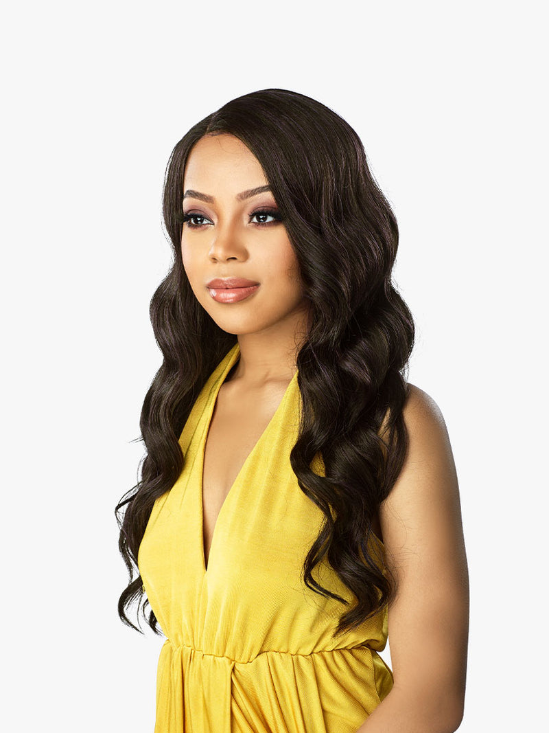 Sensationnel Dashly Lace Unit 4 Lace Front Wig Synthetic