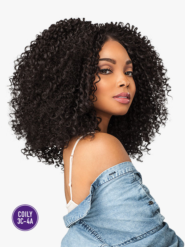 Sensationnel Curls Kinks & CO COILY 3C-4A Empress Lace Edge Wig - RULE BREAKER