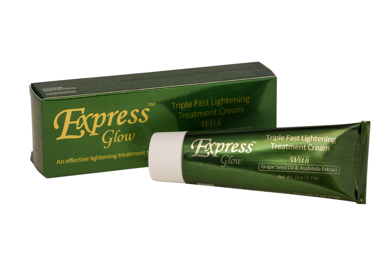 LABELLE GLOW - Express Glow Triple Fast Lightening Cream With Grapeseed Oil & Asafetida Extract - ShanShar