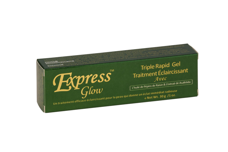 LABELLE GLOW - Express Glow Triple Fast Lightening Treatment Gel With Grapeseed Oil & Asafetida Extract - ShanShar