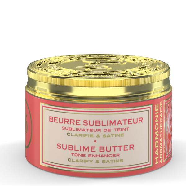 Tone Enhancer Sublime Butter  / Harmony Aromatherapy /  Amber Scent