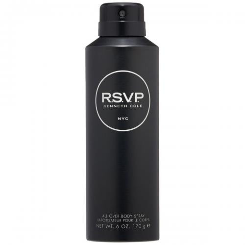 FRAG - Kenneth Cole RSVP All Over Body Spray for Men 6 oz (170mL)