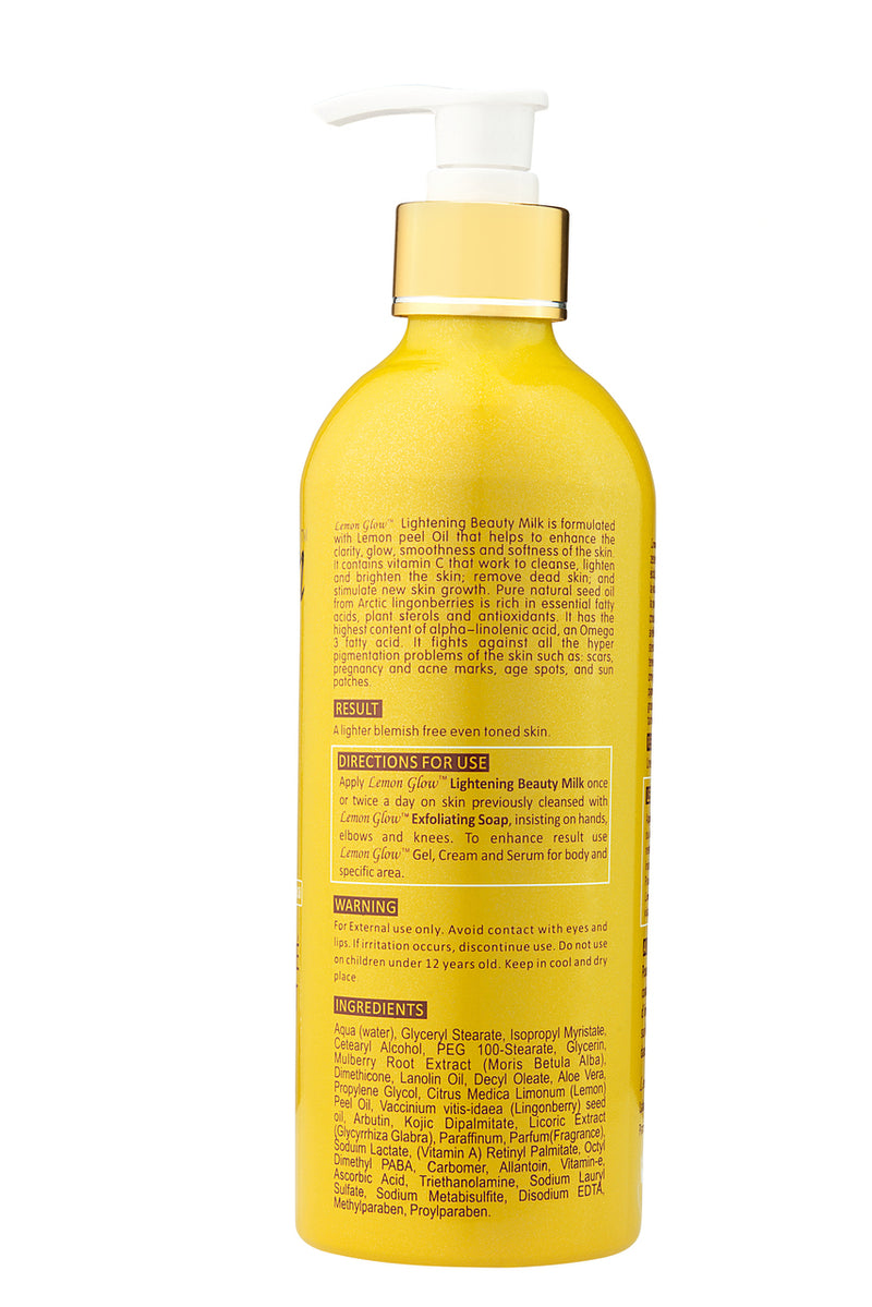 LABELLE Glow - Lemon Glow Ultimate Lightening Beauty Milk - ShanShar