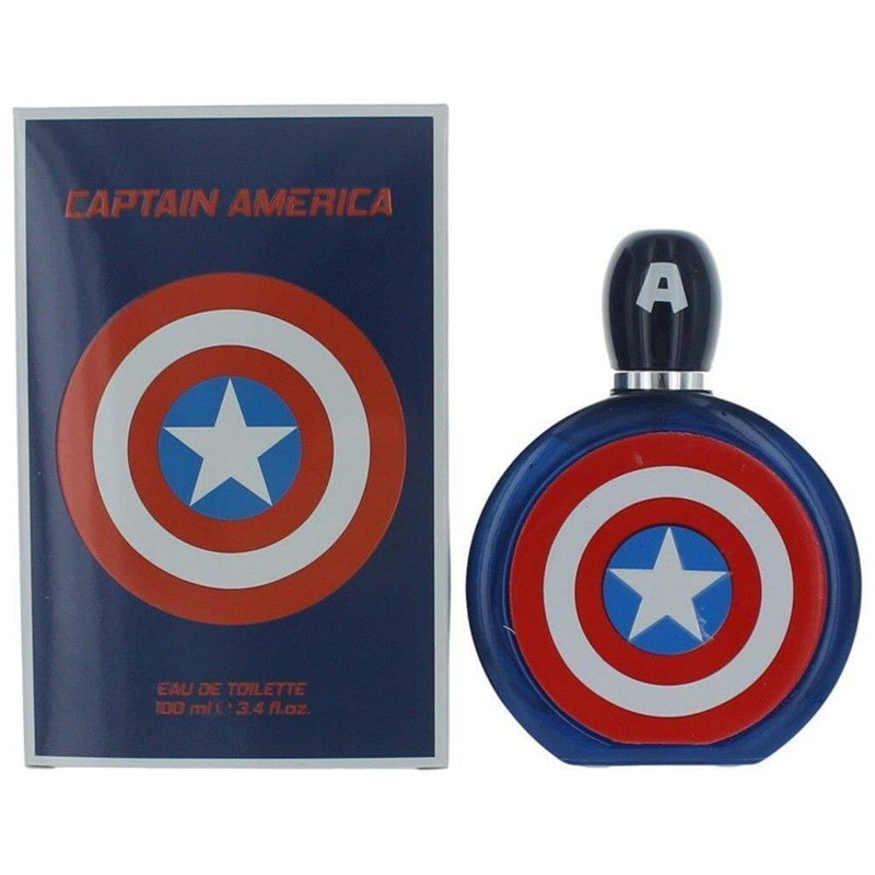 FRAG - Marvel Captain America Eau de Toilette Spray 3.4 oz (100mL)