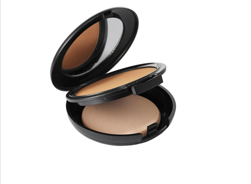 Vegan Pressed Mineral Foundation - full coverage, a weightless natural matte finish, and shine control.