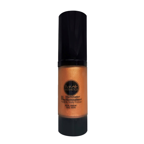 Natural Looking Radiant Liquid illuminator - Rusty Copper 15ml