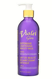 GLOW - Violet Glow Extensive Lightening Beauty Milk With Sweet Violet Flower Extract & Rice Bran Oil
