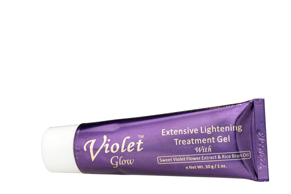 GLOW - Violet Glow Extensive Lightening Treatment Gel With Sweet Violet Flower Extract & Rice Bran Oil